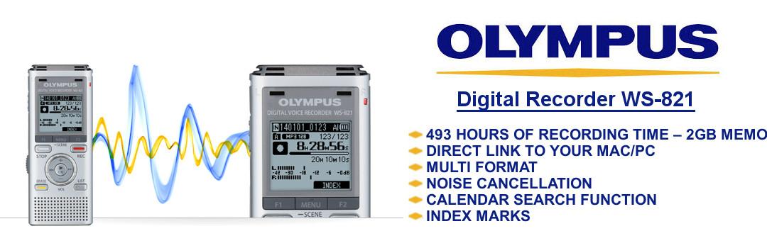 Olympus Digital Recorder WS-821